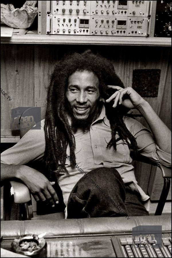 Bob Marley At Tuff Gong Studio 56 Hope Rd Bob Marley Nesta