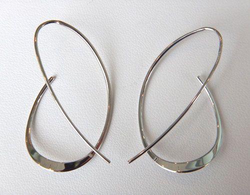 Sterling Silver swirl earrings