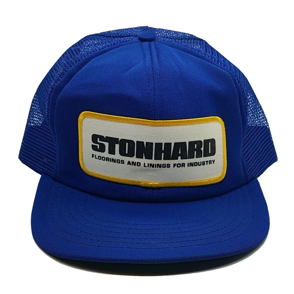 Vintage 80s Stonhard Baseball Hat Truckers Cap Parkavenue Baseballcap Casual Trucker Cap Baseball Hats Hats
