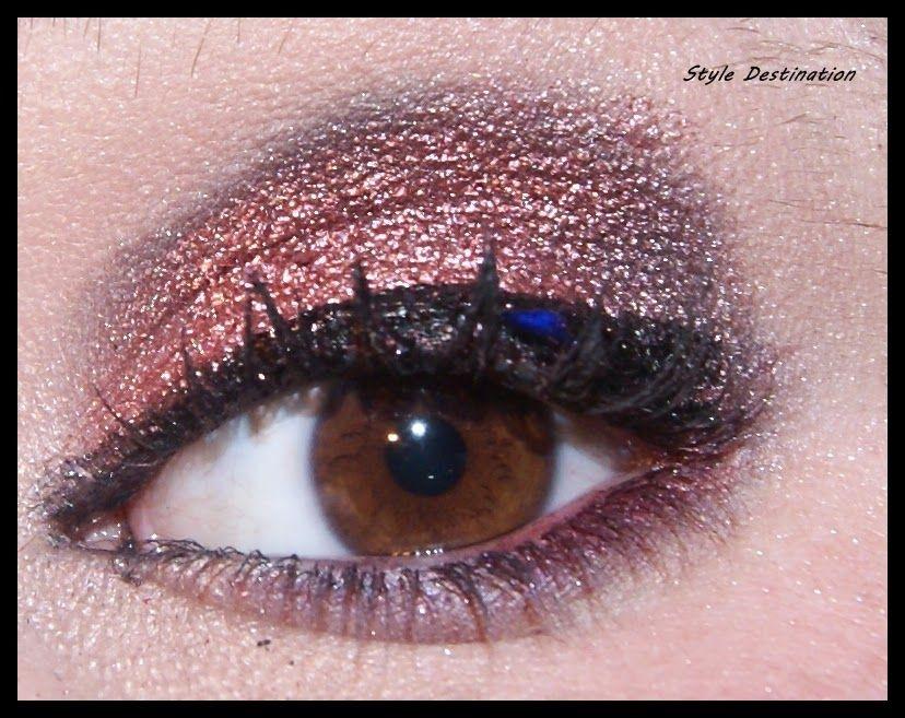 Style Destination by Lidia Bonilla: Maquillaje Inspirado - Rojo Metalizado- Christina ...