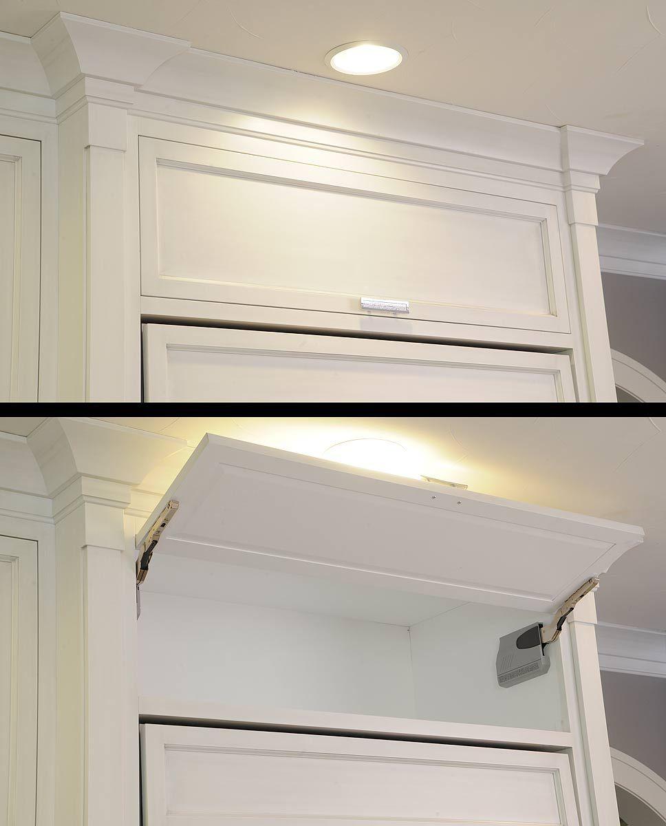 Flip up cabinet door | Cabinet Accessories | Pinterest | Doors ...