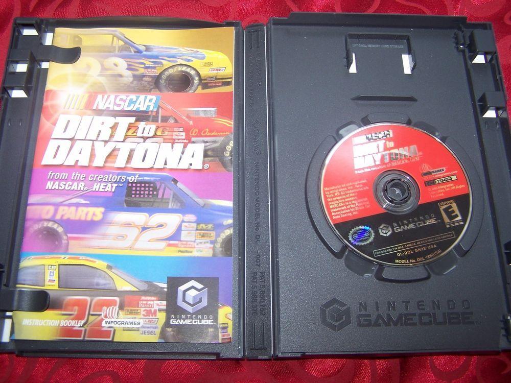 Nascar Dirt to Daytona Nintendo Gamecube Complete