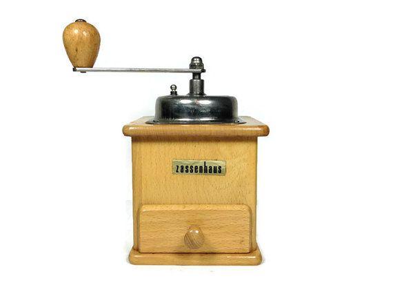 Rare Vintage Zassenhaus Record 458 Coffee Grinder Coffee Grinder Vintage Coffee Custom Coffee