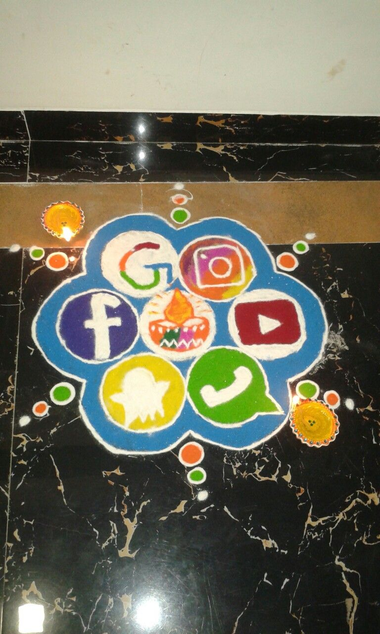 Social Media Easy Rangoli Designs Diwali Rangoli Designs Diwali Rangoli Designs