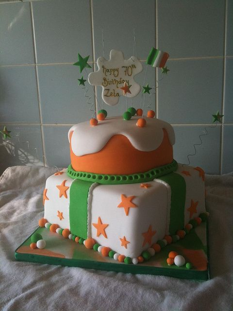 Awe Inspiring Irish Birthday Cake With Images Irish Birthday Cake Cake Birthday Cards Printable Riciscafe Filternl