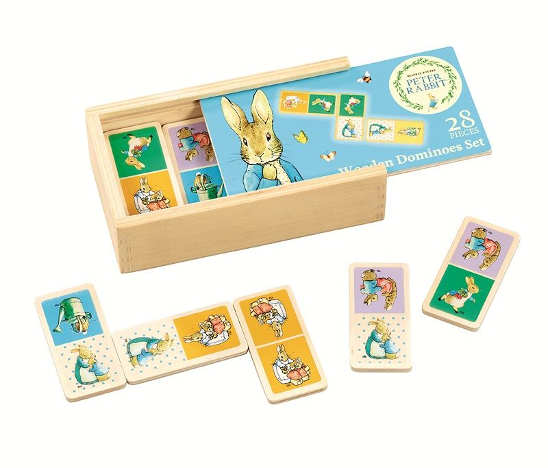 Peter Rabbit Dominoes available online at http://www.babycity.co.uk/