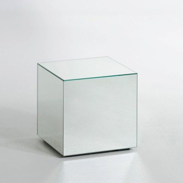 table basse miroir lumir   interiors