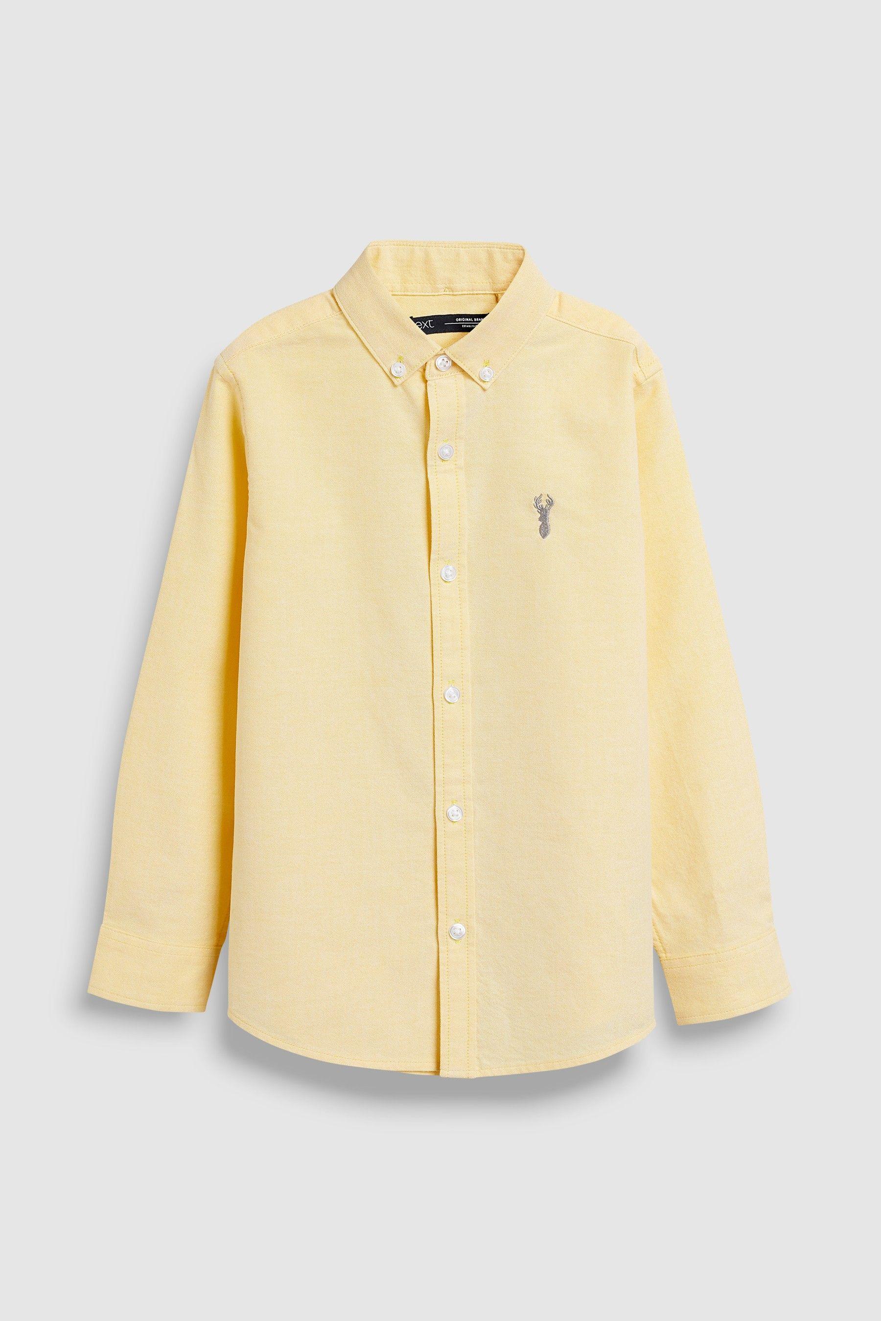 Blue Long Sleeve Oxford Shirt 3 16yrs