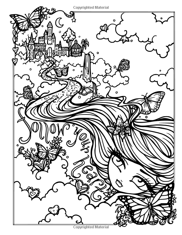 journey girl coloring pages - photo#36