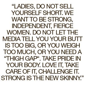 Skinny Women Who Workout Quotes   Google Search