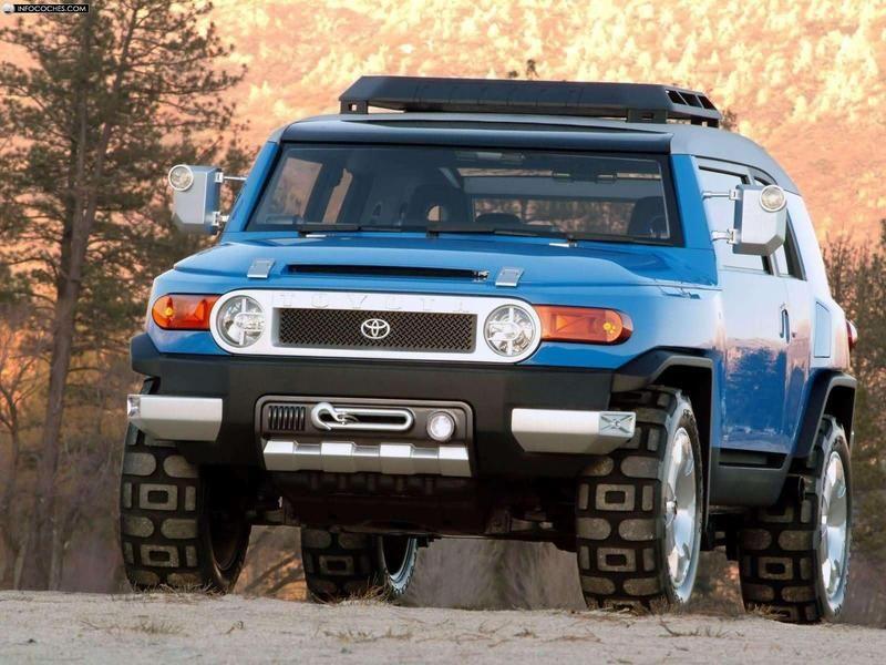 Toyota FJ Cruiser Concept | Trucks | Pinterest | Toyota FJ Cruiser ...
