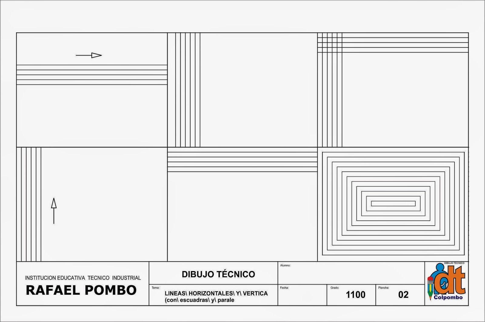 Dibujo Tecnico Grado Decimo Manejo De Instrumentos Instrumentos De Dibujo Tecnicas De Dibujo Ejercicios De Dibujo