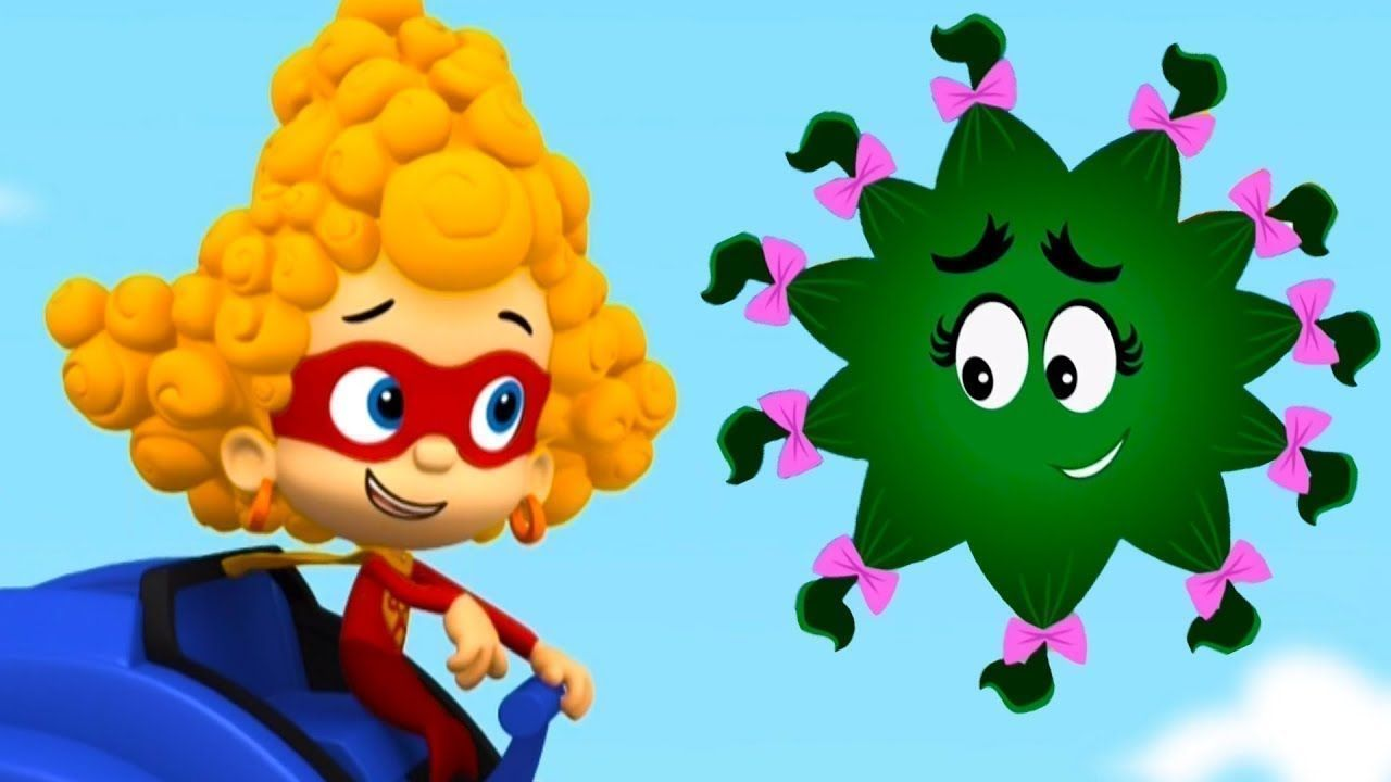 Pin By Purple Hayes On Bubble Guppies In 2020 Cartoon Bubbles Guppy Hair Humor