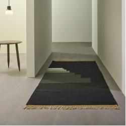 Photo of Another Rug Teppich Ap1 green jade &tradition