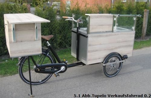 verkaufsfahrrad lastenrad fahrrad verkaufsstand und. Black Bedroom Furniture Sets. Home Design Ideas