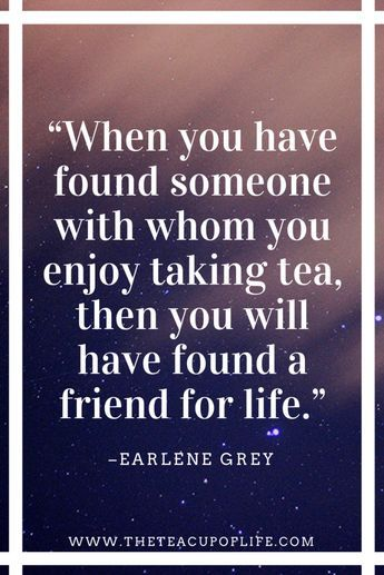 What I Love Most About Tea