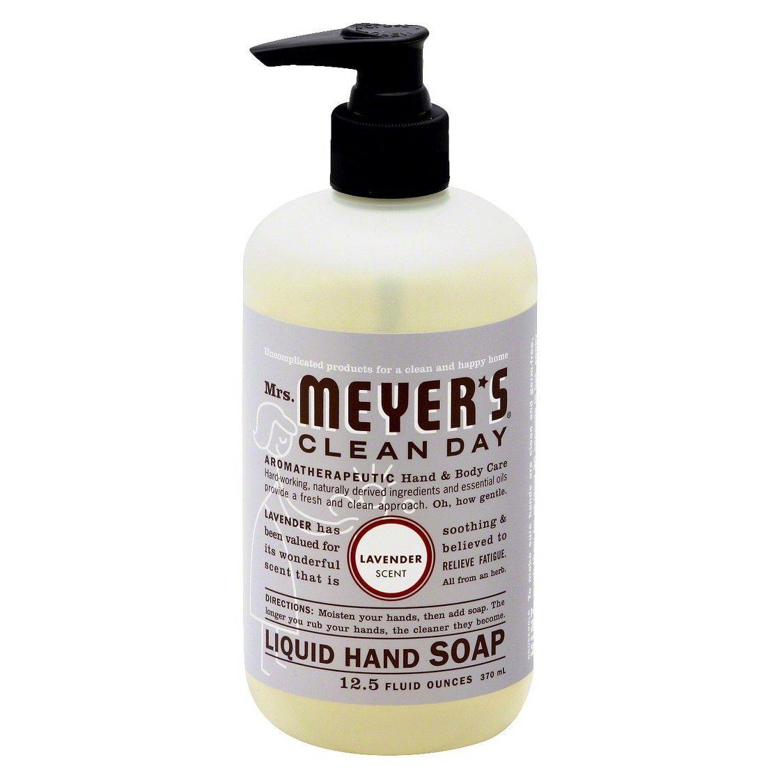 Mrs Meyer S Clean Day Lavender Liquid Hand Soap 12 5 Fl Oz