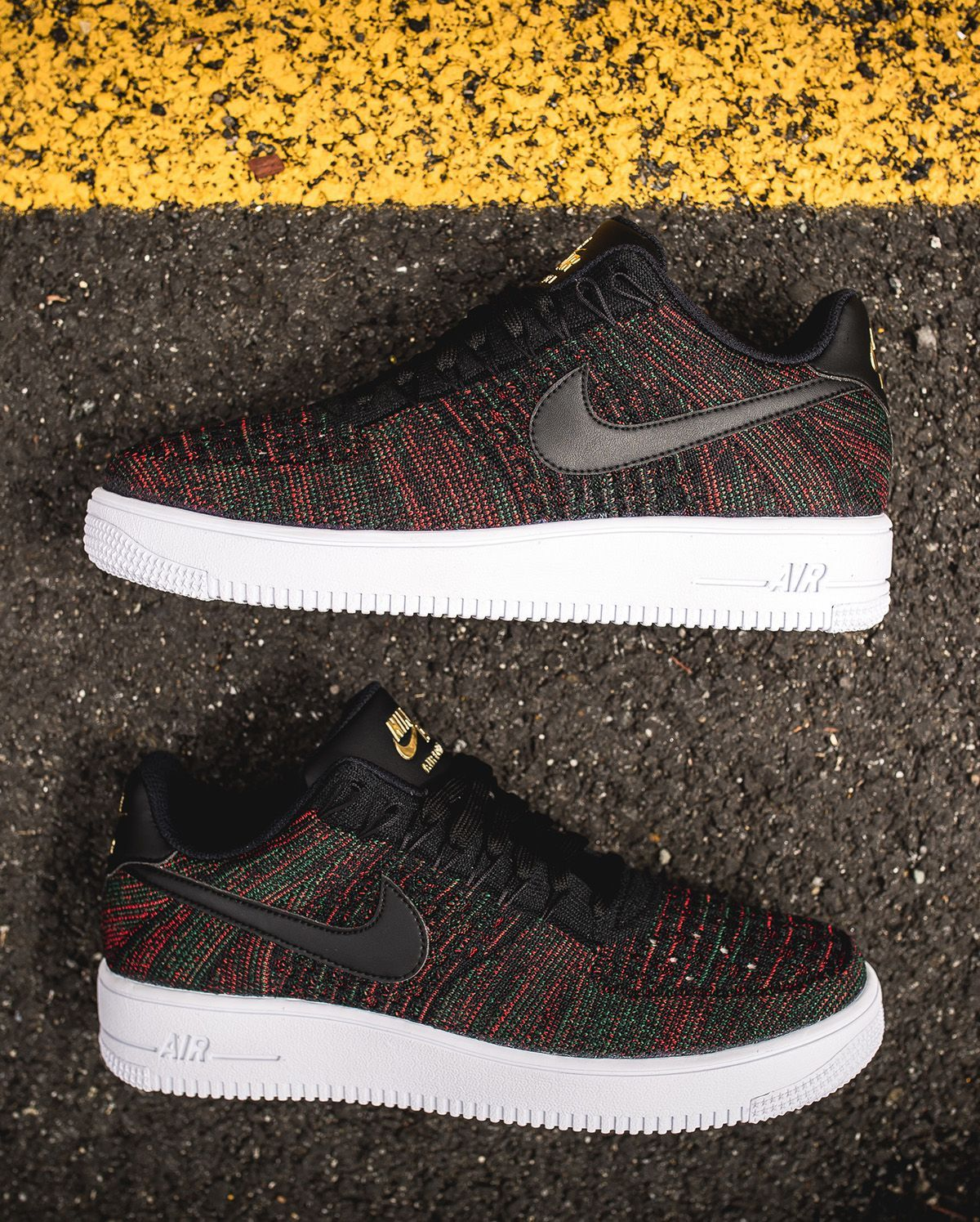 buy popular d0eb0 db17d 2019 的 Nike Air Force 1 Ultra Flyknit Low in Gucci Colors ...