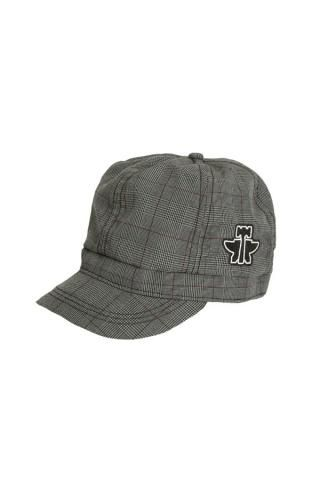 a7d92654234 Grey Blue Plaid Cap By Tin Haul - Hats and Caps - Urban Western Wear