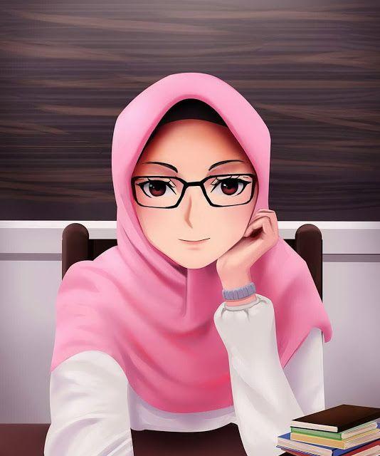 Kartun Muslimah Cantik Jutaan Gambar Islamic Cartoon Anime Muslim Hijab Cartoon