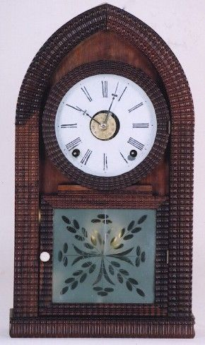 E. N. Welch Ripple case Beehive Mantel Clock.