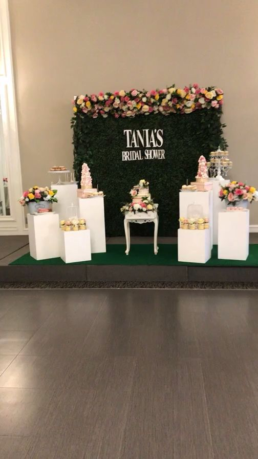 Garden theme theme bridal shower Garden theme theme bridal shower One of our favourite setups Every detail was done to the dot Follow us on Instagram simplylavishevent to...