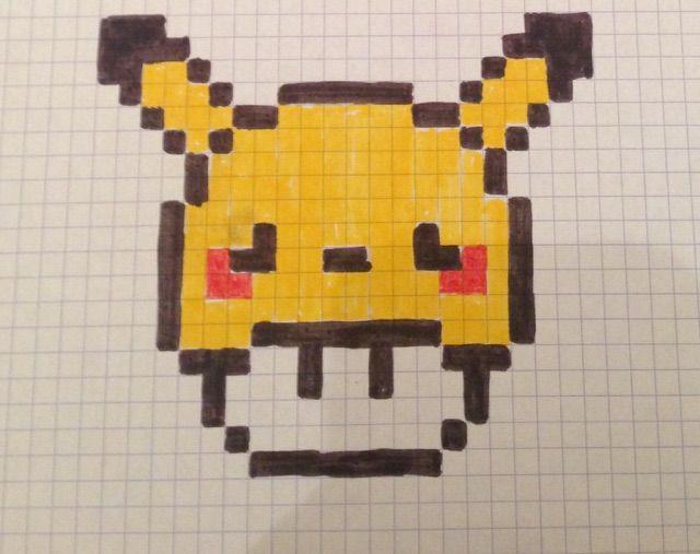 Pixel Art Pikachu Pixel Art Pixel Art Art Et Pikachu