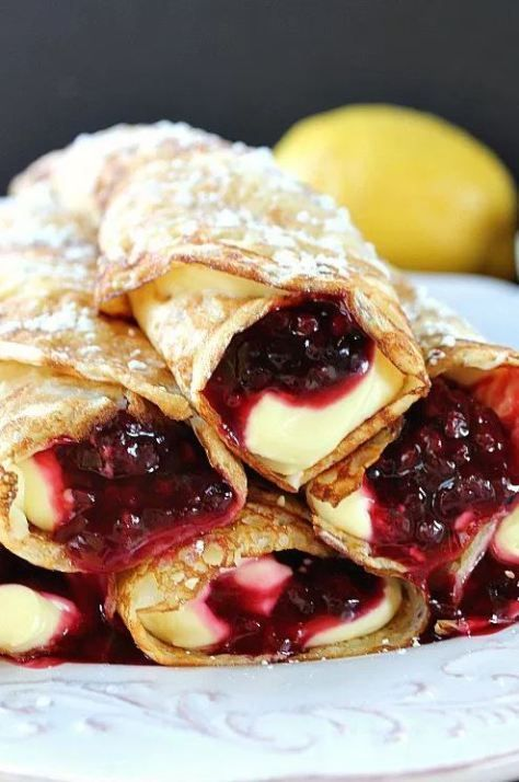 30 Simple Crepe Recipes That Will Make Your Day Sweet