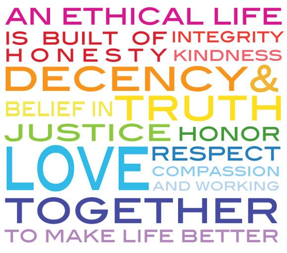an ethical life