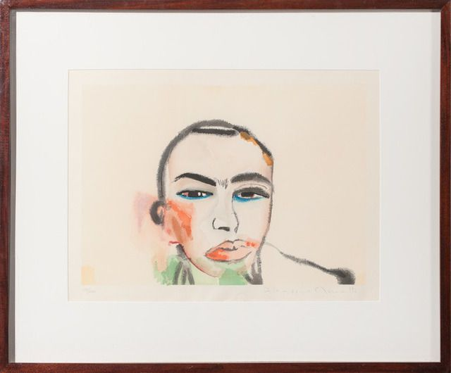 Untitled, by Francesco Clemente