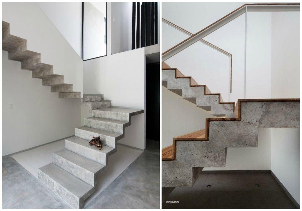05-diseño-de-escaleras-perfil-ziz-zag-hormigon Escaleras - Diseo De Escaleras Interiores