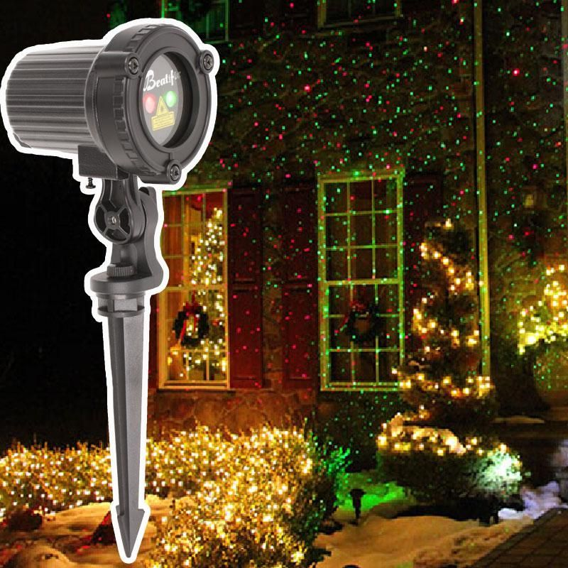 Christmas Lighting Outdoor Laser Projector Shower Fairy Lights For Home Decorations Holiday Garden Navidad Led110v 220volts Outdoor Christmas Lights Christmas Lighting Star Christmas Lights