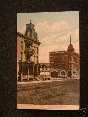 Wilson Hotel Webster City Iowa Postcards City Iowa Hotel