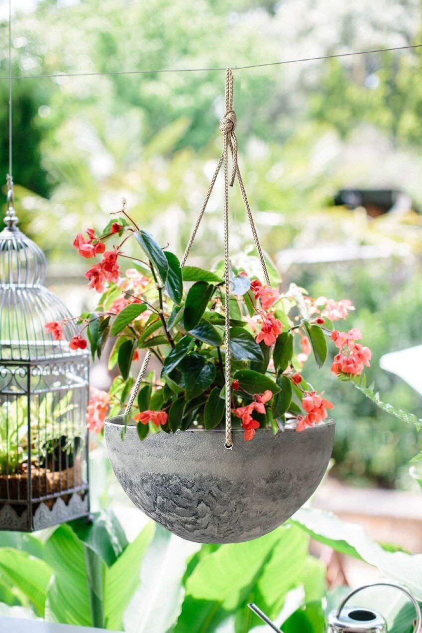 Hanging planter flower plant pots 10 indoor outdoor
