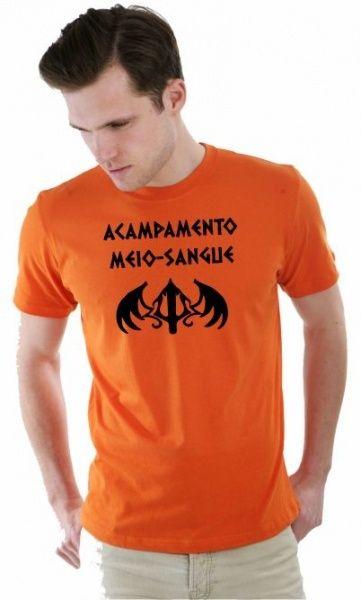Camiseta Acampamento Meio Sangue 01 por apenas R$37.91