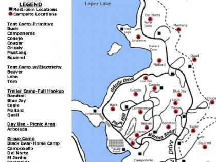 Lake Lopez Camping Map Image result for lopez lake arroyo grande campsite map | Nessie