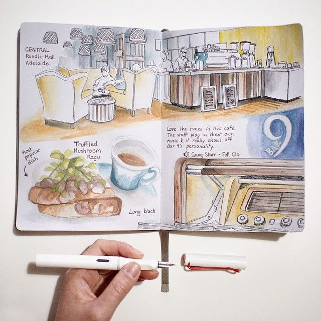 The Journal Diaries- Elaine's Sketchbook