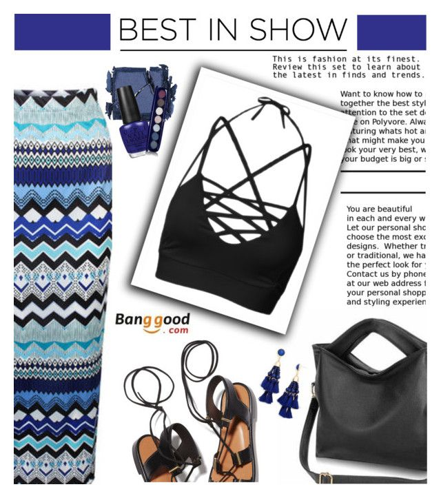 """""""Best In Show (Banggood 2/10)"""" by shambala-379 ❤ liked on Polyvore featuring Rosetta Getty, Surratt, OPI, Givenchy, BaubleBar and BangGood"""