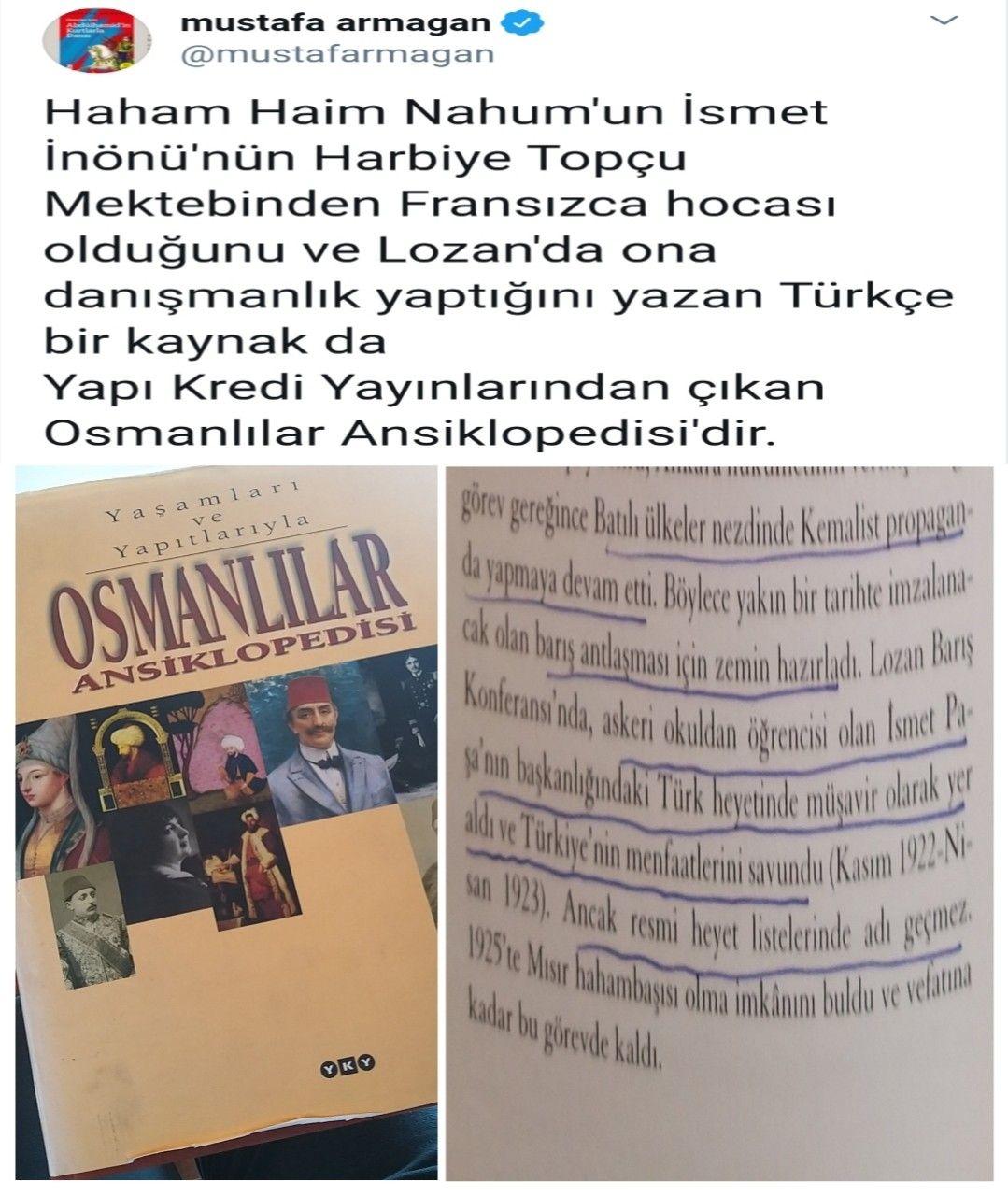 Haimnahum Ismetinonu Fransa Lozan Sanatci Gazeteci Milliyetci Ataturkcu Bozkurt Anitkabir Nutuk Erdogan Suriye Sondakika I Lozan Tarih Gercekler