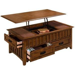 Nebraska Furniture Mart New Classic Lift Top Coffee