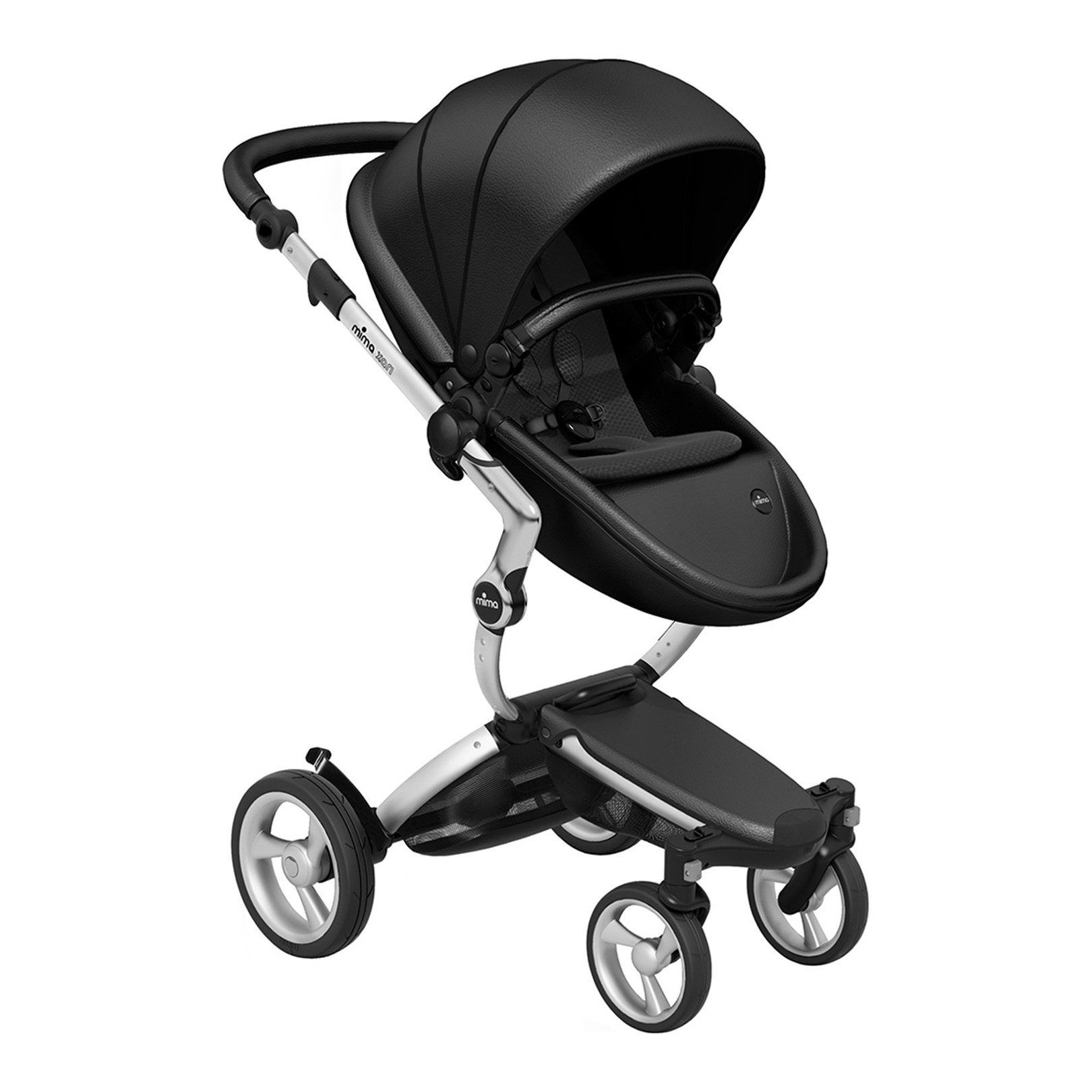 Xari Stroller Bundle Includes Aluminium Chassis, Black