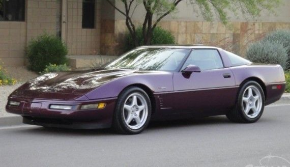 Ebay Find Rare C4 Corvette Zr1 With Only 16k Miles Corvette Zr1 Corvette Chevrolet Corvette
