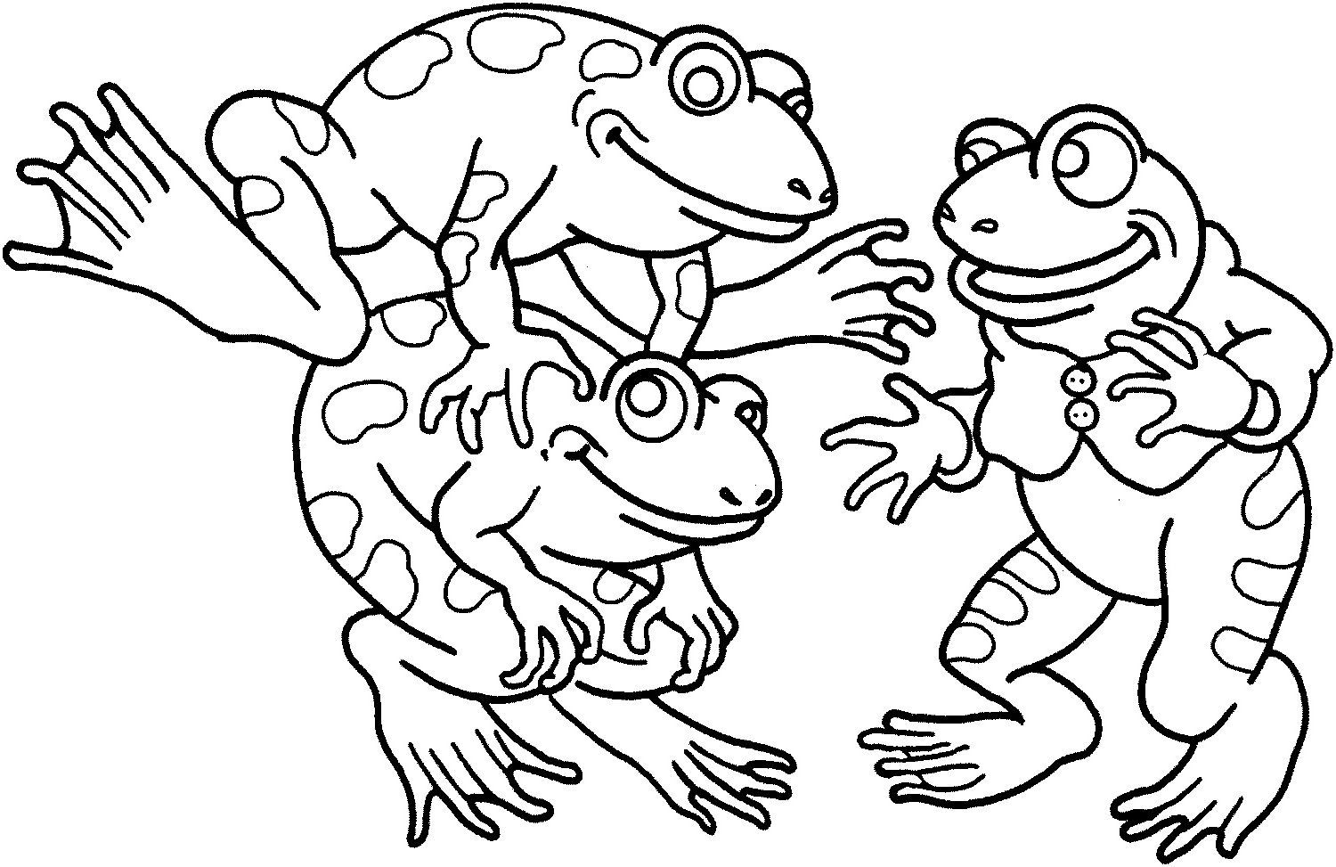 Frog Coloring Pages For 2019 Frog Coloring Pages Coloring Pages