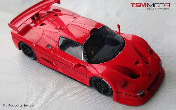 ferrari f50 gt fujimi resin collection model car in 1 18 scale by truescale miniatures object. Black Bedroom Furniture Sets. Home Design Ideas