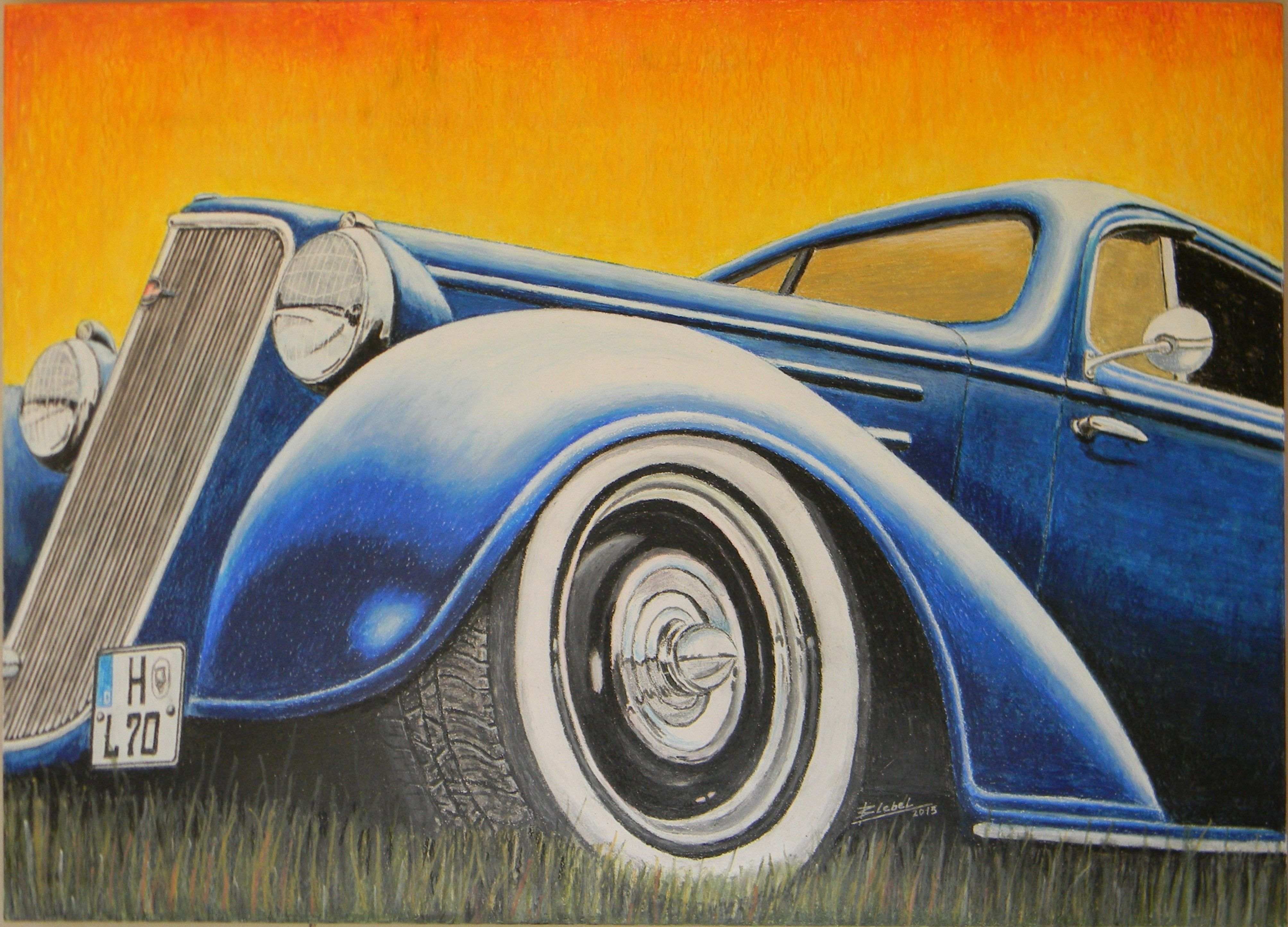 Rat Rod Chevrolet Master 1935\