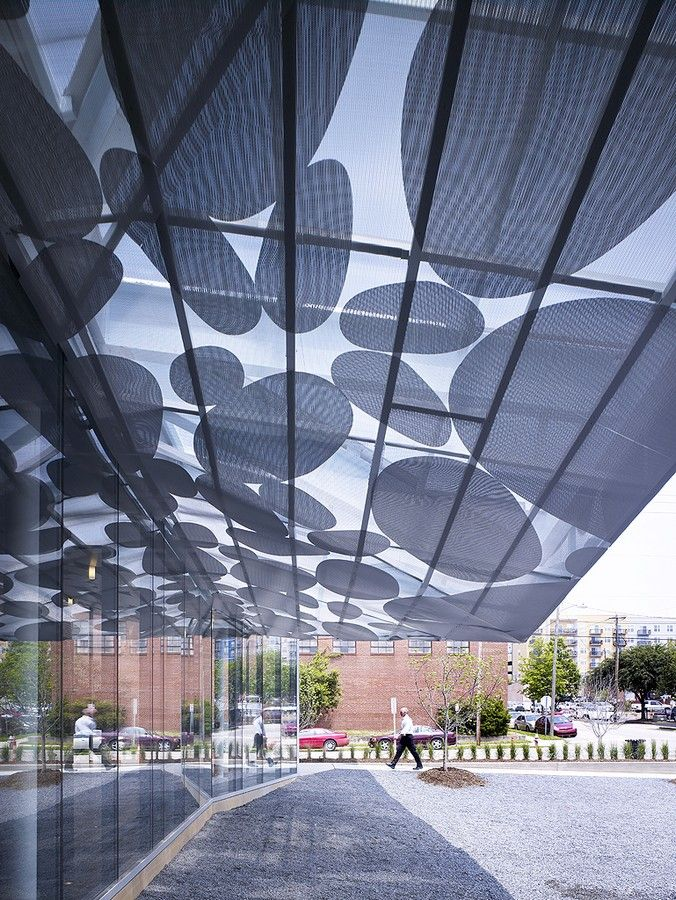 Brooks Scarpa S Contemporary Art Museum Canopy In