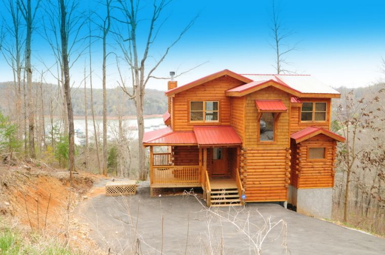 Norris Lake Cabin House For Sale At Overlook Bay Norris