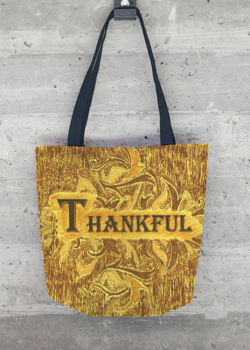 Tote Bag - Kay Duncan Thankful LvnT by VIDA VIDA JJB9Tk4Vg5