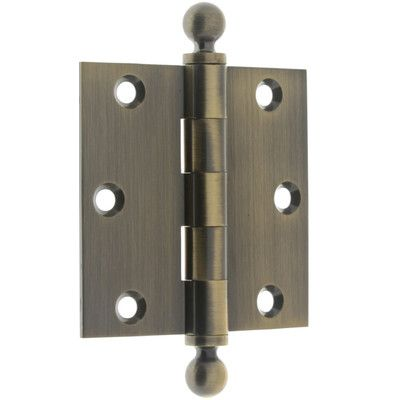 Idh By St Simons 3 5 H X 3 W Loose Pin Pair Door Hinge Finish Antique Brass With Images Door Hinges Hinges Door Handles