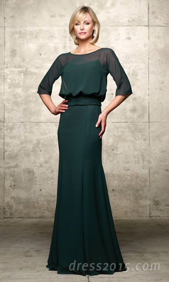 I can see a mother of the groom in this with a gorgeous long necklace looking amazing!